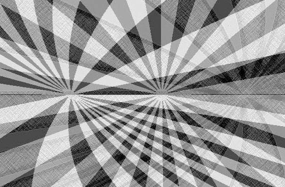 ilustración agenda efecto óptico molino destello cabecera