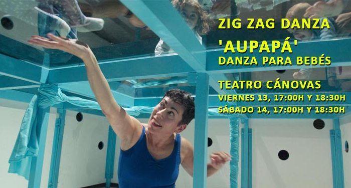 Zig Zag Danza espectáculo danza bebés Aupapá Cánovas cabecera