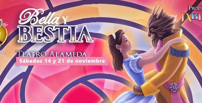 Teatro Alameda repone 'Bella y Bestia' de Jabetín Teatro cabecera