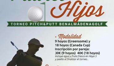 Torneo de golf padres e hijos