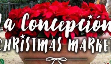 Finca La Concepción Christmas Market actividades infantiles Castañera cabecera