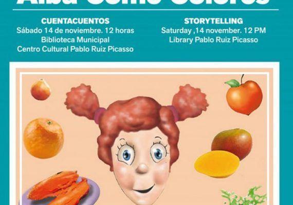 Cuentacuentos en Torremolinos bilingüe para niños