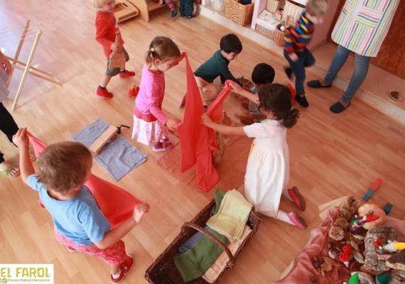 Escuela waldorf El Farol en Málaga
