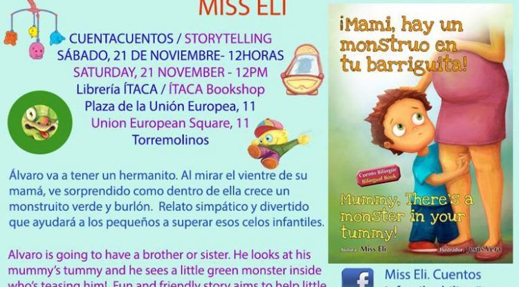 Cuentacuentos bilingüe en Torremolinos para niños