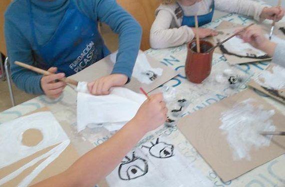 taller infantil imagen sugerida sombras casa natal