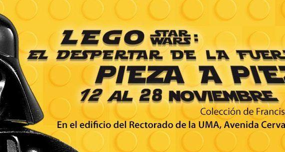 Exposición Lego Star Wars en el Rectorado de la UMA