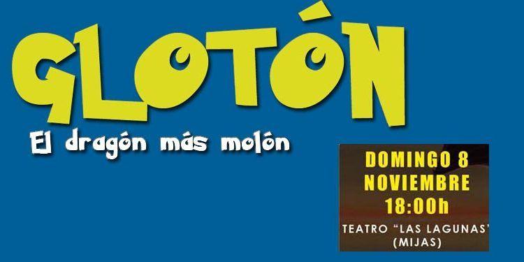 Teatro Las Lagunas Mijas infantil 'Glotón, el dragón más molón' cabecera