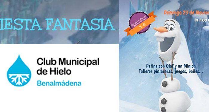 fiesta fantasía club hielo Benalmádena cabecera