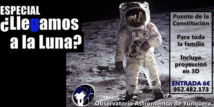 observatorio Yunquera sesión especial llegamos luna cabecera