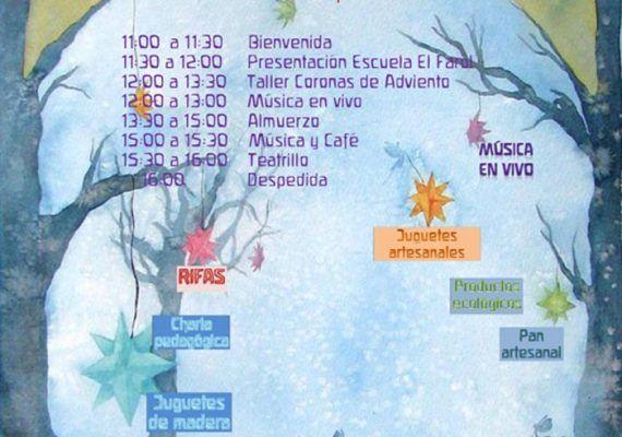 Mercadillo de Navidad El Farol sábado 28 de noviembre