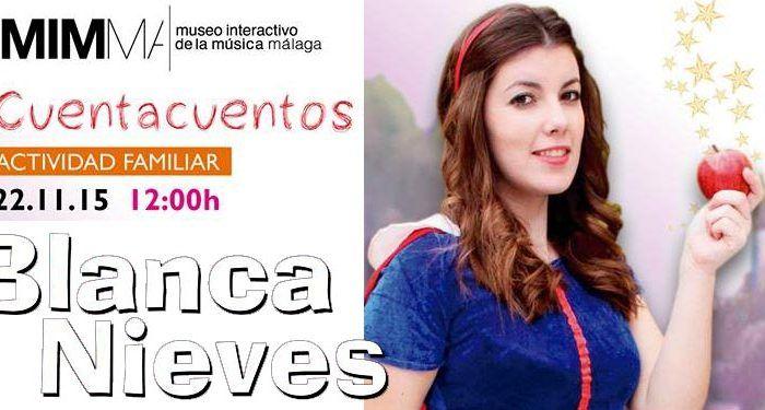 Blancanieves adaptación cuentacuentos musical Mimma cabecera