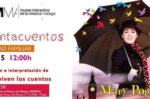 cuentacuentos musical adaptación Mary Poppins MIMMA cabecera