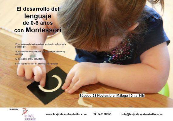 Montessori para escribir y hablar
