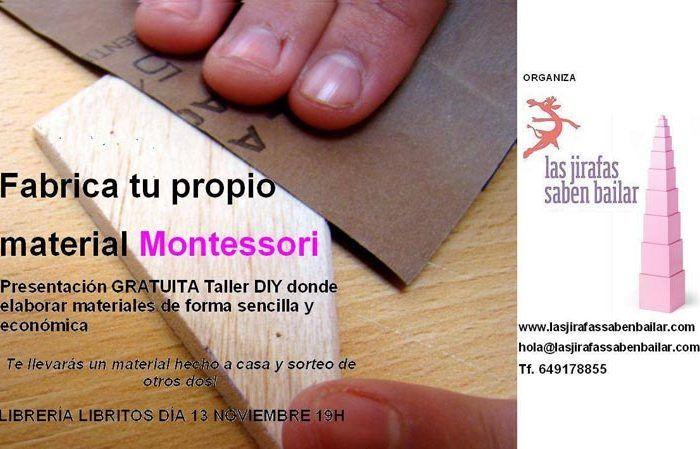 Materiales Montessori en Libritos, Málaga
