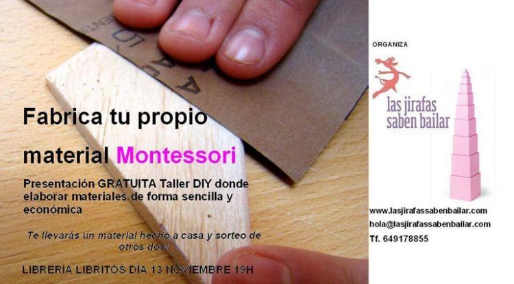 Materiales Montessori en Libritos, Málaga