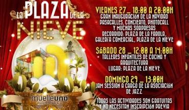 Muelle Uno programa navidad 2015 talleres cocina arquitectura cabecera