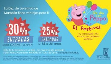 Descuentos para el Peppa Pig Festival