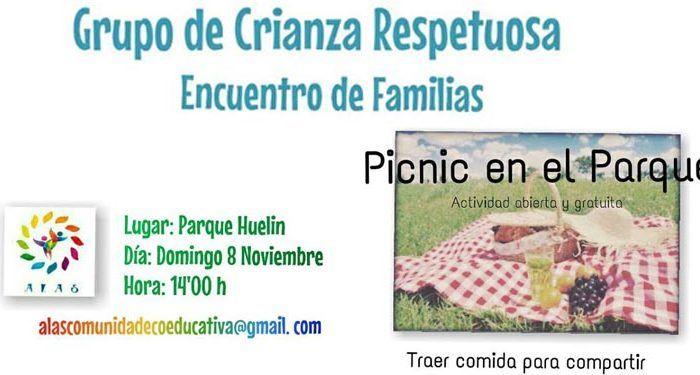 picnic familiar grupo crianza ALAS cabecera