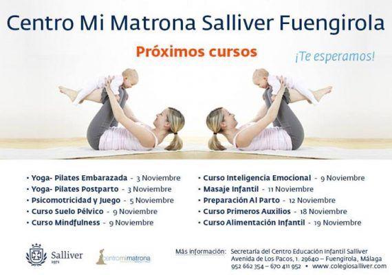 Cursos en Centro Mi Matrona Salliver de Fuengirola