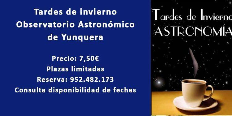 tardes invierno observatorio astronómico yunquera cabecera