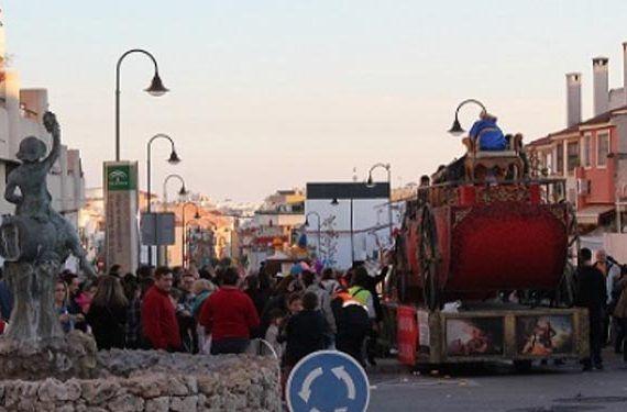 Cabalgata Reyes Magos Mijas las lagunas la cala fiesta navidad cabecera