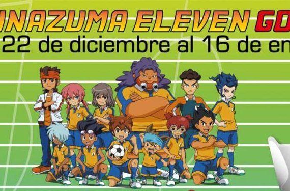 Inazuma Eleven Go El Ingenio actividades navidad talleres cabecera