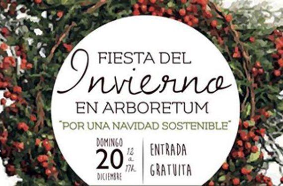 fiesta invierno arboretum marbella actividades nilños familia reciclaje ecología cabecera