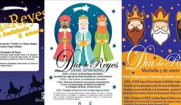 cabalgata marbella nueva andalucia san pedro alcántara carteles composición reyes magos cabecera