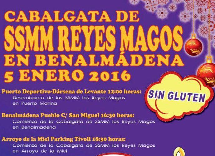Cabalgata de Reyes Magos sin gluten
