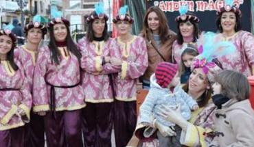 cartera real en Ronda carta niñas niños Reyes cabalgata cabecera