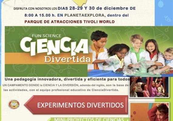 Campamento de Navidad de Ciencia Divertida