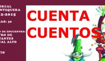 El Torcal Antequera cuentacuentos niñas niños madres padres centro navidad cabecera