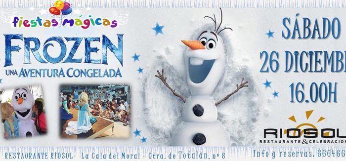 Frozen en el restaurante Riosol