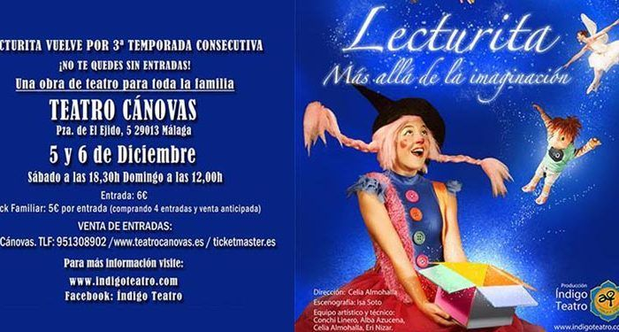 lecturita índigo teatro cánovas infantil espectáculo familiar música circo cabecera