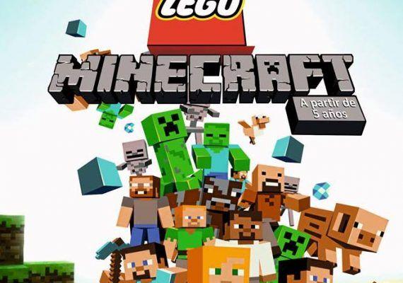 Campamento de Navidad Lego Minecraft