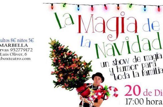 luigi ludus black box teatro magia navidad espectáculo humor familia marbella cabecera