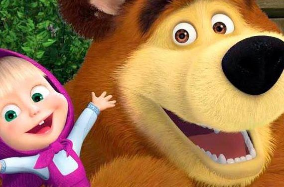 masha y el oso museo ruso proyecciones navidad tv cabecera