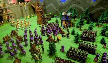 exposición clicks playmobil archivo municipal asedio ciudad amurallada ejército negro belén cabecera