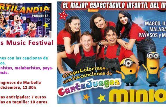 mickey's music festival marbella cantajuegos minions magos payasos cabecera