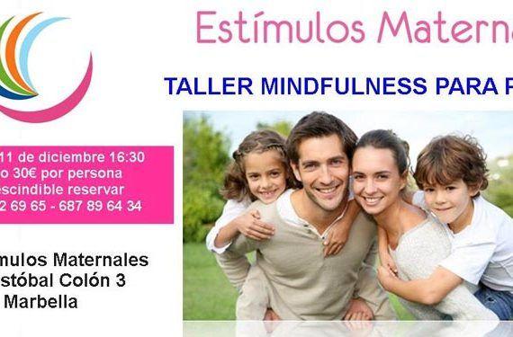 estímulos maternales taller mindfulness madres padres felicidad cabecera
