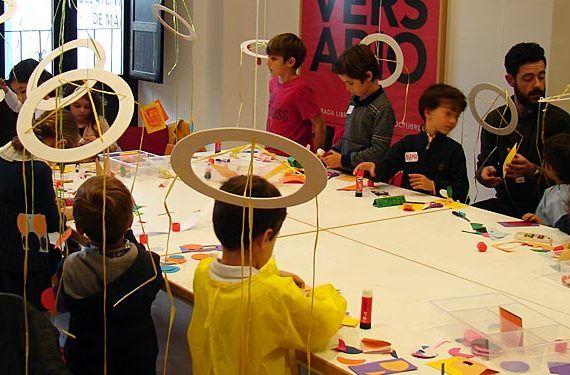 Navidad en el picasso actividades niñas niños talleres visitas cabecera