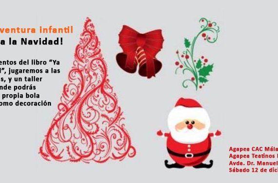 Multiaventura agapea Cuenta-cuentos Navidad adivinanzas, y taller infantil decoración navideña cabecera
