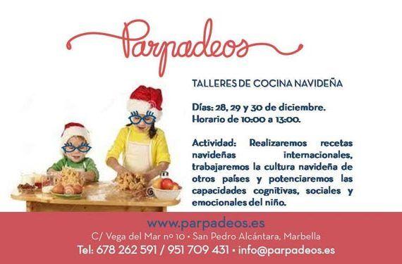 talleres cocina Navidad internacional parpadeos cultura cognitiva cabecera