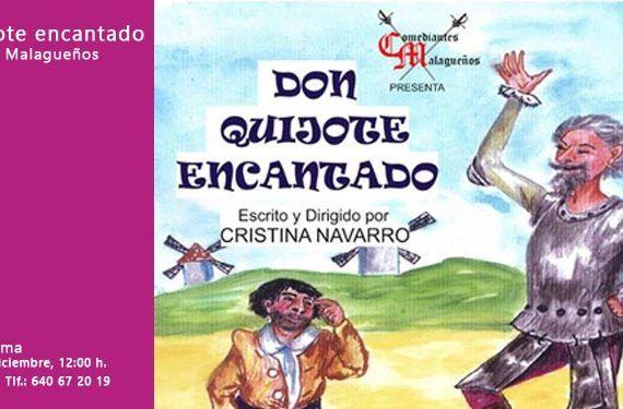 don quijote encantado adaptación infantil cártama cabecera