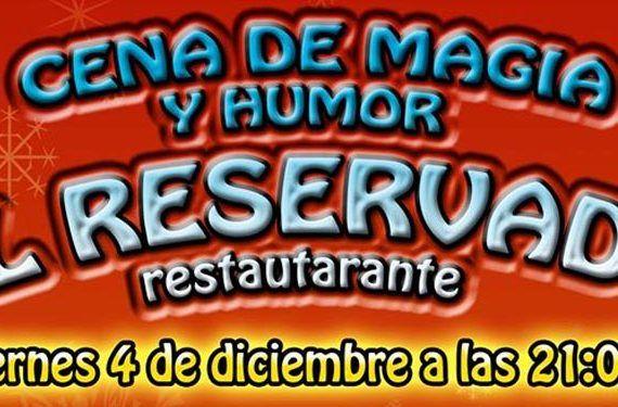 cena magia humor payaso sacarisas restaurante cabecera