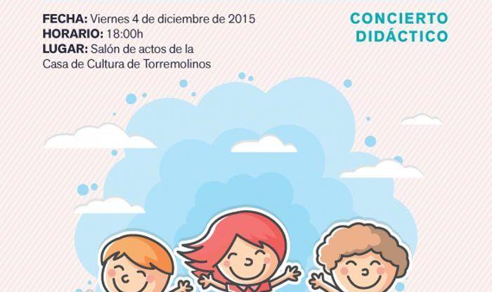 Taller de música infantil en Torremolinos el viernes 4 de diciembre