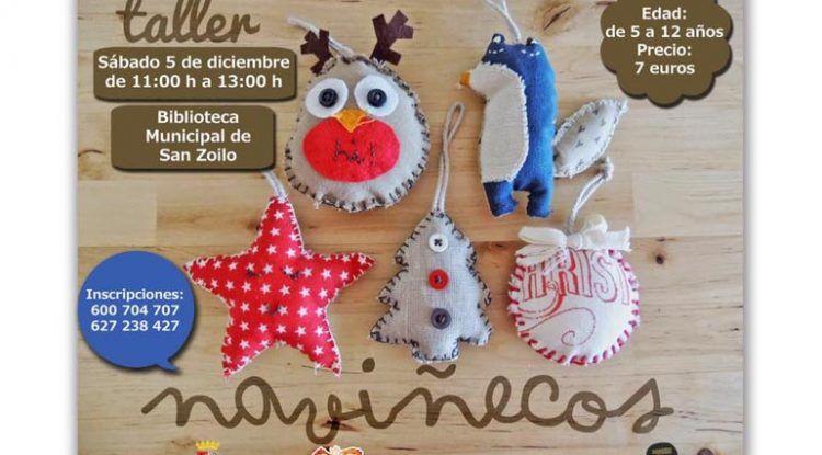 Taller infantil navideño en Antequera entre 5 y 12 años