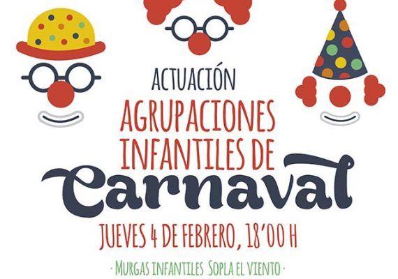 Agrupaciones infantiles de Carnaval de Málaga