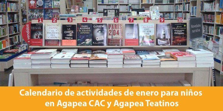 Agapea actividades enero 2016 cabecera