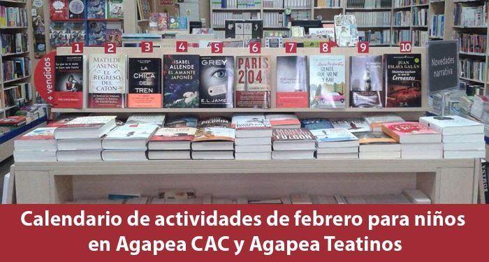 Agapea actividades febrero 2016 cabecera